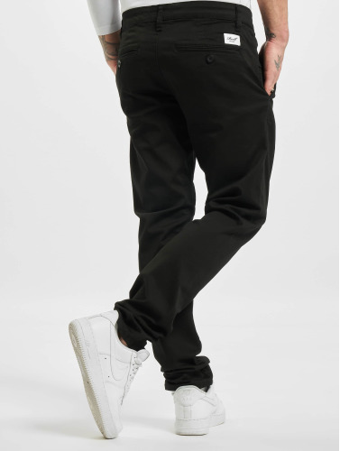 Reell Jeans Herren Chino Flex Tapered in schwarz