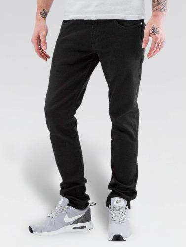 Reell Jeans Hombres Jeans ajustado Spider in negro