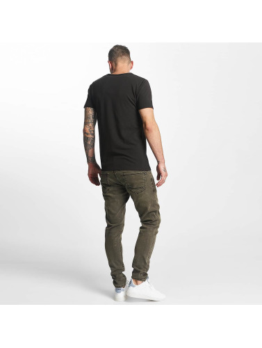 ajustado negro Spider in Reell Hombres Jeans Jeans w6xftZ