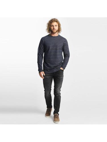 Reell Jeans Herren Longsleeve Striped in blau