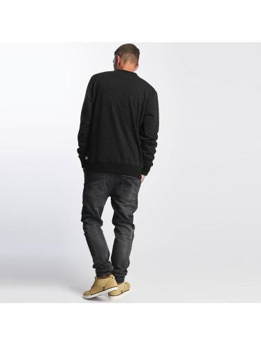 Reell Jeans Herren Pullover Stitch Crewneck in schwarz