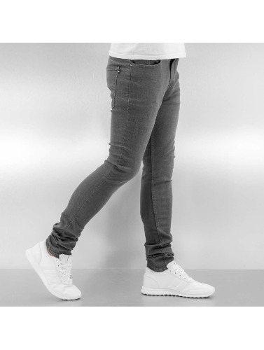 Reell Jeans Herren Skinny Jeans Radar Stretch Super Slim Fit in grau
