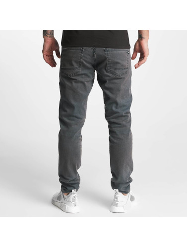 Reell Jeans Herren Slim Fit Jeans Spider in blau