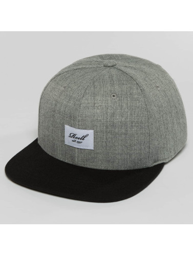 Reell Jeans Snapback Cap Pitchout in grau