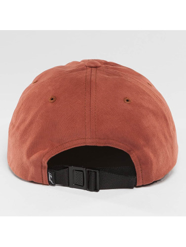 Reell Jeans Snapback Cap Flat in rot