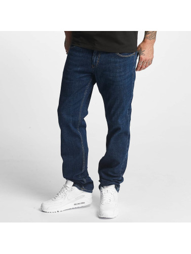 Reell Jeans Herren Straight Fit Jeans Lowfly in blau