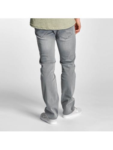 Reell Jeans Herren Straight Fit Jeans Lowfly in grau