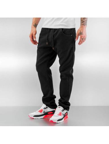 Reell Jeans Herren Straight Fit Jeans Jogger in schwarz