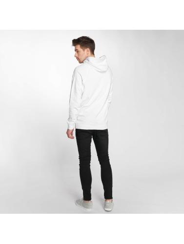 Reell Jeans Hombres Sudadera Big Logo in blanco