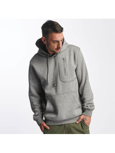 Reell Jeans Hombres Sudadera Stitch Pocket in gris