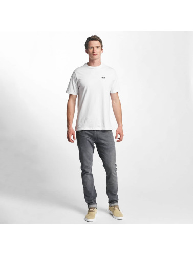 Reell Jeans Herren T-Shirt Small Script in weiß