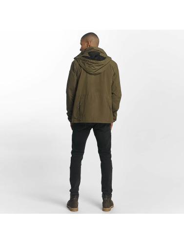 Reell Jeans Herren Übergangsjacke Packable Track in olive