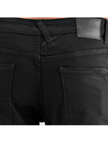 Reell Jeans Hombres Vaqueros anchos Lowfly in negro