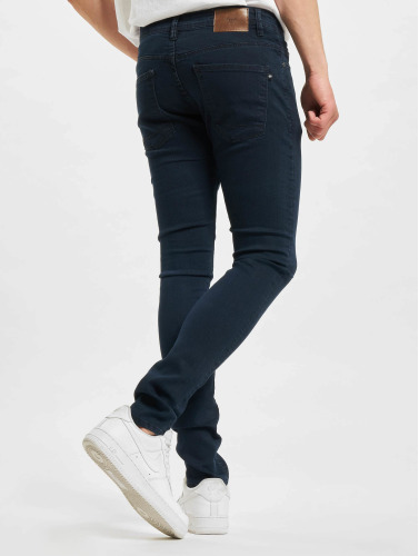 Reell Jeans Hombres Vaqueros pitillos Radar Stretch Super in azul