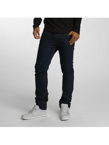 Reell Jeans Hombres Vaqueros pitillos Skin II in azul
