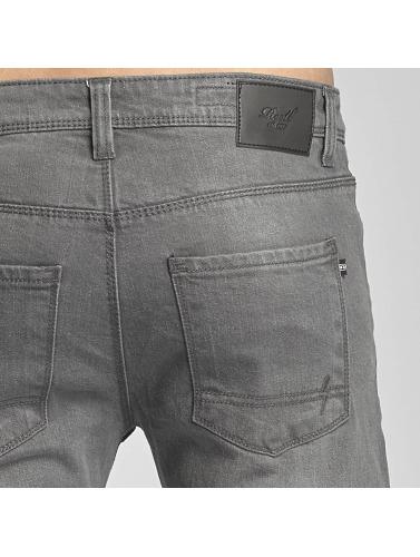 Reell Jeans Hombres Vaqueros pitillos Skin II in gris