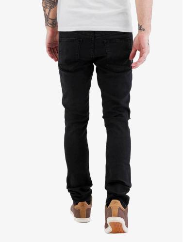 Reell Jeans Hombres Vaqueros pitillos Radar Stretch Super in negro