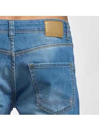 Reell Jeans Hombres Vaqueros rectos Nova II in azul