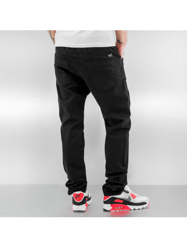 Reell Jeans Hombres Vaqueros rectos Jogger in negro
