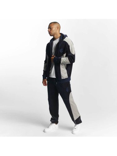 Rocawear Herren Anzug Velour Set in blau