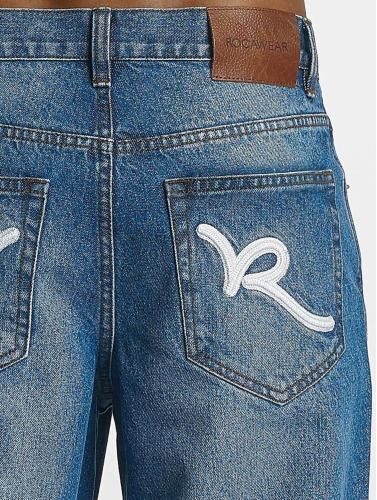 azul Baggy in Rocawear Hombres Fit Baggy Fq0Bv0