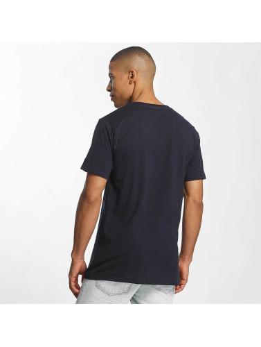 azul Camiseta Rocawear Logo Hombres in qfIFPw