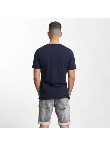 Rocawear Hombres Camiseta Logo in azul