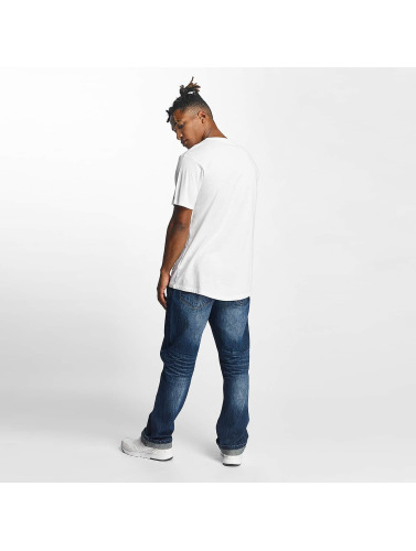 Rocawear Hombres Camiseta Group in blanco