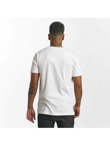 Rocawear Hombres Camiseta New York in blanco