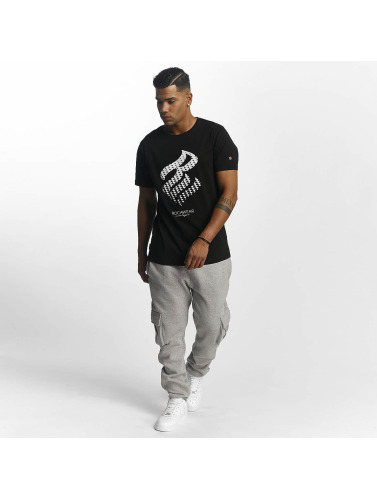 Rocawear Hombres Camiseta Triangle in negro