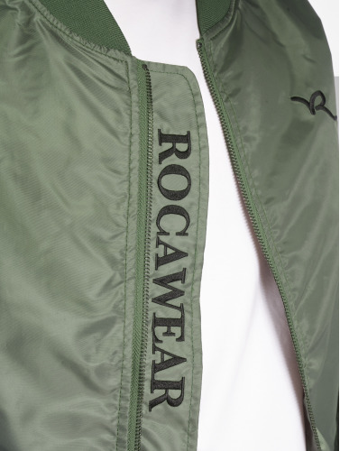 Rocawear Hombres Cazadora bomber Dariusz in oliva