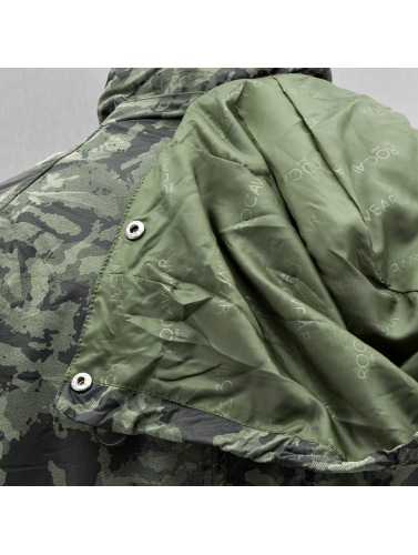 Rocawear Hombres Chaqueta de invierno Elmar in camuflaje