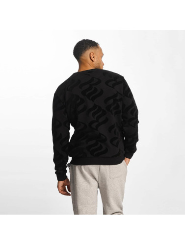 Rocawear Hombres Jersey Retro Velour in negro