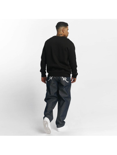 Rocawear Hombres Jersey Ilias in negro