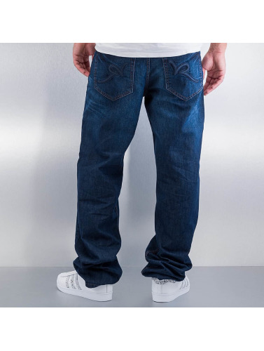 Rocawear Herren Loose Fit Jeans Tap in blau