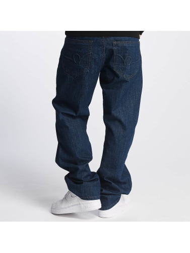 Rocawear Herren Loose Fit Jeans R in blau