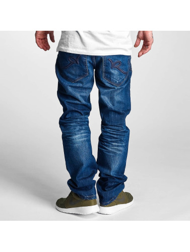 Rocawear Herren Straight Fit Jeans Relaxed in blau