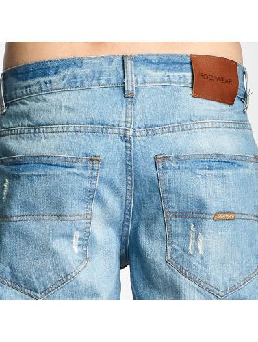 Rocawear Herren Straight Fit Jeans Relaxed in blau