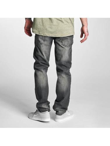 Rocawear Herren Straight Fit Jeans Relaxed in grau
