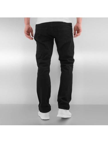 Rocawear Herren Straight Fit Jeans Quilted in schwarz