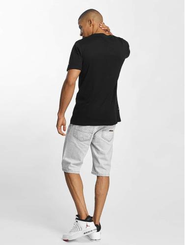 Rocawear Herren T-Shirt Logo in schwarz Die Kostenlose Versand Hochwertiger LZQdR