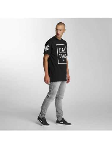 Rocawear Herren T-Shirt Stay True in schwarz