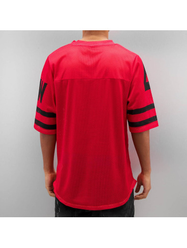 Rocawear Hombres Tall Tees Football in rojo