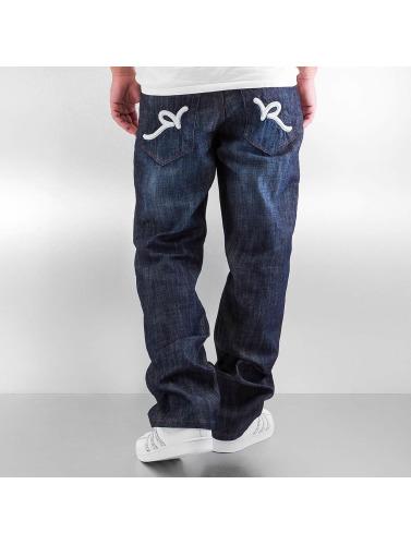 Hombres Rocawear anchos Vaqueros azul Tap in Uw4xw