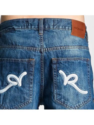 in Vaqueros azul Loose Rocawear anchos Hombres Y1qzw