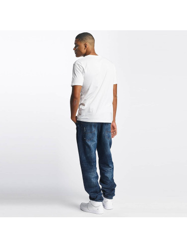 Rocawear Hombres Vaqueros anchos Tapered Loose Fit in azul