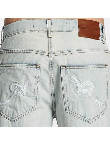 Rocawear Hombres Vaqueros anchos Mirror in azul