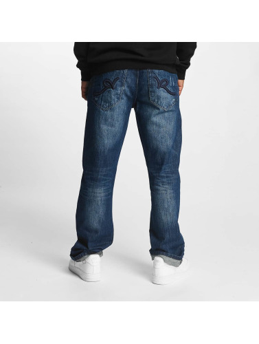 Rocawear in J Loose azul Hombres Vaqueros Fit anchos rxUraYq