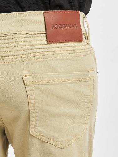 Rocawear Quilted rectos Hombres caqui in Vaqueros PrP08ZTq