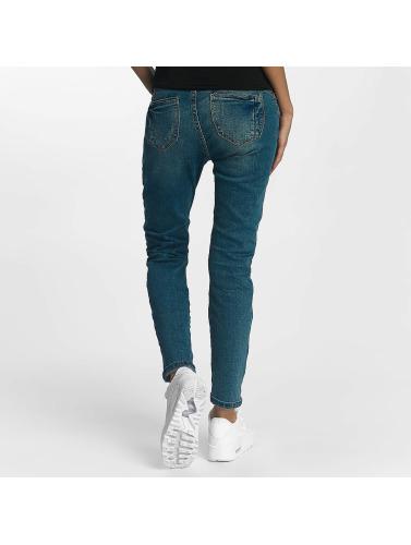 Rock Angel Damen Straight Fit Jeans Charlotta in blau